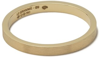 Le Gramme 18kt Yellow Gold 3g Band Ring