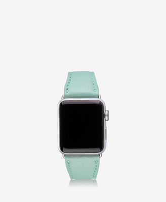 GiGi New York 38mm Apple Watch Band, Azure Pebble Grain
