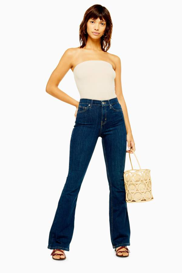 moderate price purchase cheap dirt cheap Topshop Women's Flare Jeans - ShopStyle