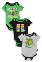 Nickelodeon Baby's Three-Piece Ninja Turtle Bodysuits
