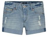 Levi's Girls 7-16 Ripped Boyfriend Denim Shortie Shorts