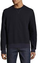Balenciaga Solid Crewneck Sweatshirt