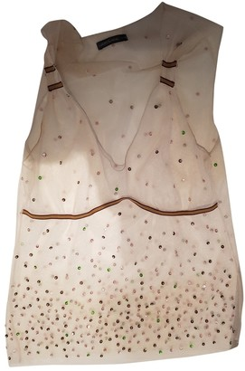 Barbara Bui White Lace Top for Women