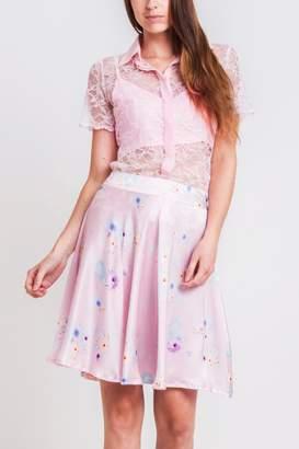 Sophie Cameron Davies Silk Floral Skirt
