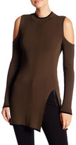Romeo & Juliet Couture Cold Shoulder Sweater
