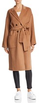 Thumbnail for your product : Anine Bing Dylan Wool & Cashmere Trench Coat