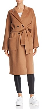 Anine Bing Dylan Wool & Cashmere Trench Coat