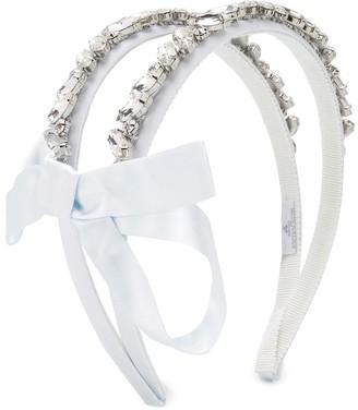 MonnaLisa Crystal Embellished Headband