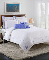 Cupcakes And Cashmere Blue Frame King Duvet Cover