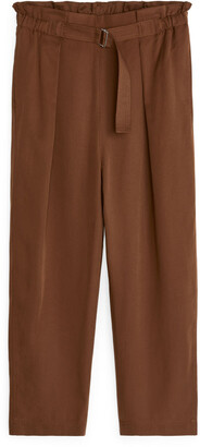 Arket Relaxed Lyocell Trousers