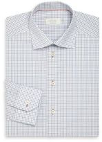 Eton Contemporary-Fit Check Cotton Dress Shirt