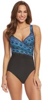 Miraclesuit Rockin' Moroccan It's A Wrap One Piece Swimsuit 8150918