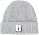 Alexander Wang flipped girl patch beanie