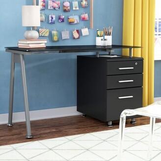 Ebern Designs Jauss Glass Desk