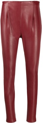 Schumacher Dorothee high-waist fitted trousers