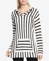 Vince Camuto TWO by Vince Striped Hooded Sweater
