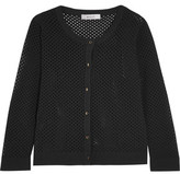 Milly Pointelle-Knit Cardigan
