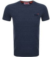 Superdry Vintage Embroidery T Shirt Blue