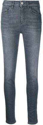 Liu Jo Grey-Wash Skinny Jeans