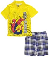 "Spiderman Little Boys' ""Spidey Adventures"" 2-Piece Outfit"