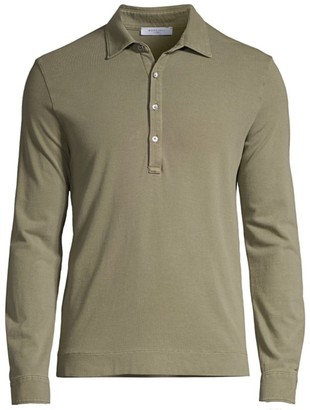 Boglioli Long-Sleeve Polo