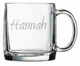 The Well Appointed House Personalized Large Glass Mug