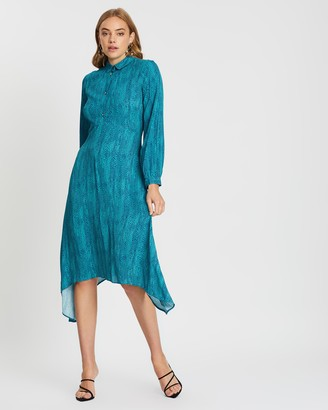 Closet London Hanky Hem Shirt Dress