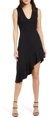 Susana Monaco Sleeveless Asymmetrical Dress