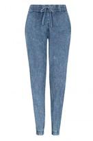 Select Fashion Fashion Womens Blue Jazz Denim Jogger - size 6