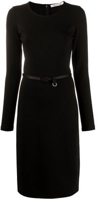 Alyx Belted Pencil Midi Dress