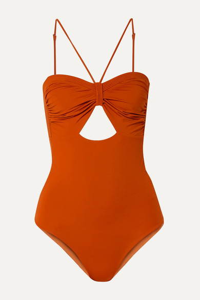9940ee2973a Womens Swimsuit Orange One Piece - ShopStyle