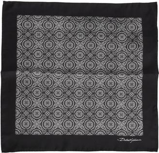Dolce & Gabbana Printed Pocket Square