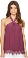 Kensie Slinky Knit Halter Top KS7K3596 Women's Clothing
