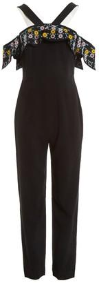 Peter Pilotto Black Viscose Jumpsuits