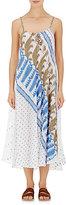 Joshi Women's Hanky Cotton Gauze Maxi Dress-WHITE