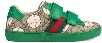 Gucci Children's Ace GG baseball sneaker