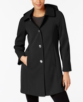 London Fog Petite Turn-Lock Raincoat