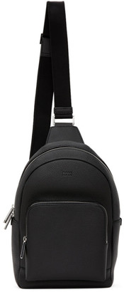 HUGO BOSS Black Crosstown Single-Strap Backpack