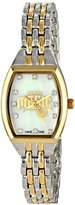 Game Time Women's NBA-WCL-ORL World Class Two-Tone Stones Analog Display Japanese Quartz Silver Watch