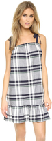 Club Monaco Rousha Plaid Pov Dress