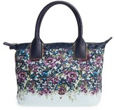 Ted Baker Small Entangled Enchantment Nylon Tote - Blue
