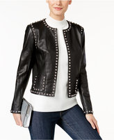 Michael Kors MICHAEL Michael Studded Leather Jacket