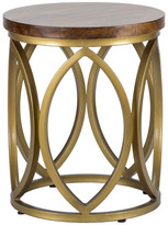 """Kosas Gemma 20"""" Round End Table by Home"""