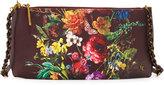 Elliott Lucca Floral Faux-Leather Clutch Bag, Multi