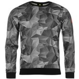 Replay Geo Block Crew Sweater