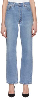 RE/DONE Blue Levis Edition 90s Jeans