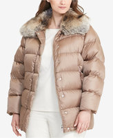 Lauren Ralph Lauren Plus Size Quilted Down Coat