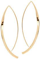 Lana Small 14K Twist Arch Hoop Earrings
