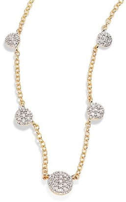 Phillips House Affair Diamond & 14K Yellow Gold Infinity Station Necklace
