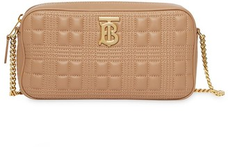 Burberry Quilted Check Camera Bag